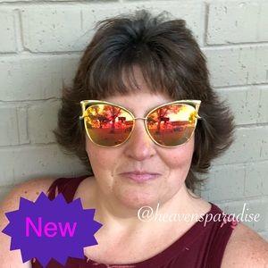 New Fashion Cat Eye Luxury Sunglasses